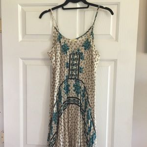 Boho print dress